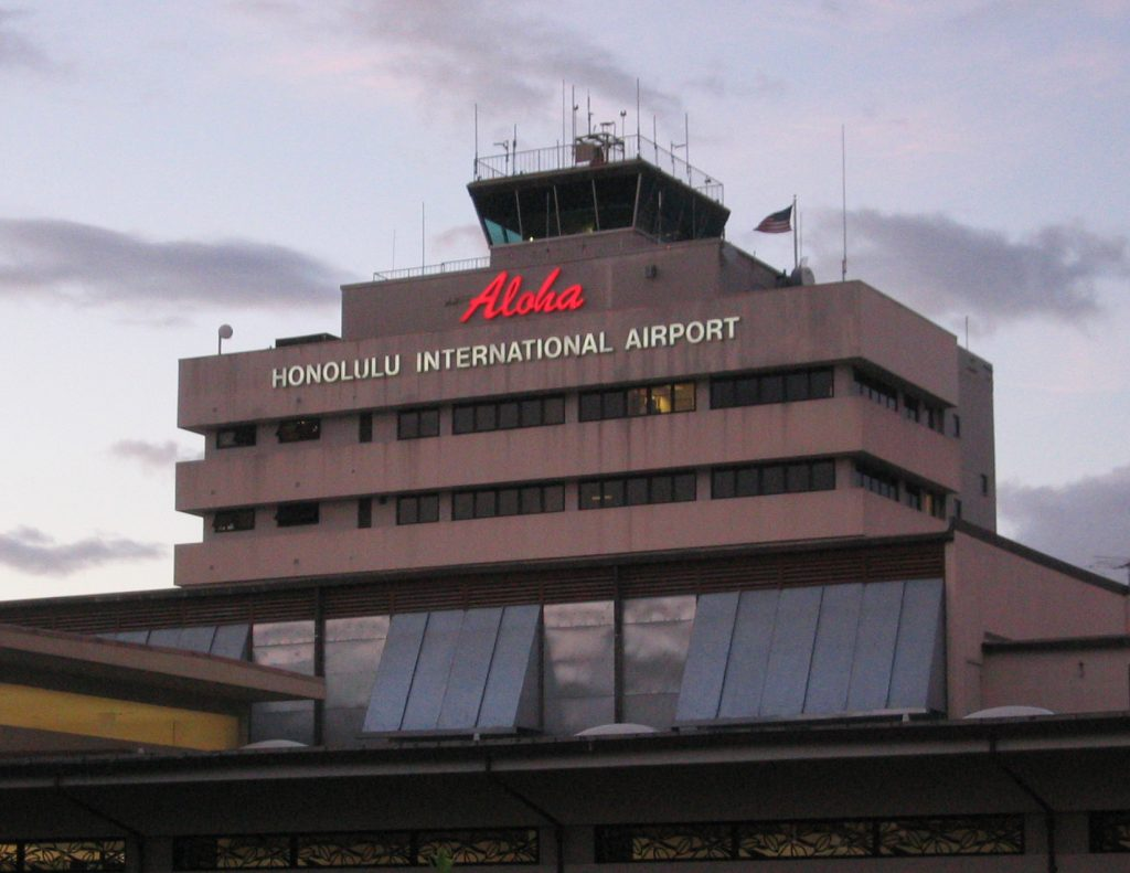 Arriving At Honolulu International Airport