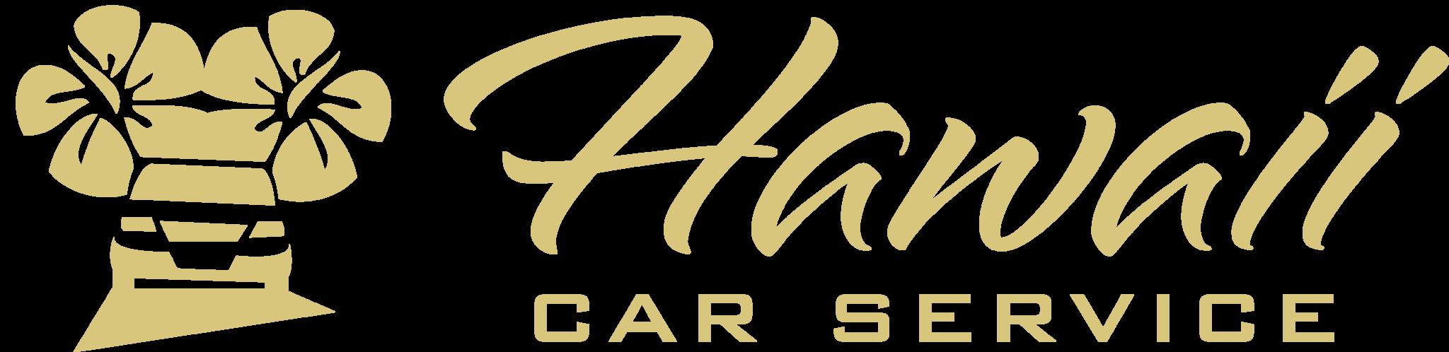 Hawaii Car Service Logo (Gold)